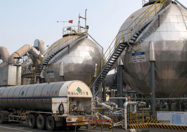 中国海关总署:今年前5个月中国天然气进口量增价跌