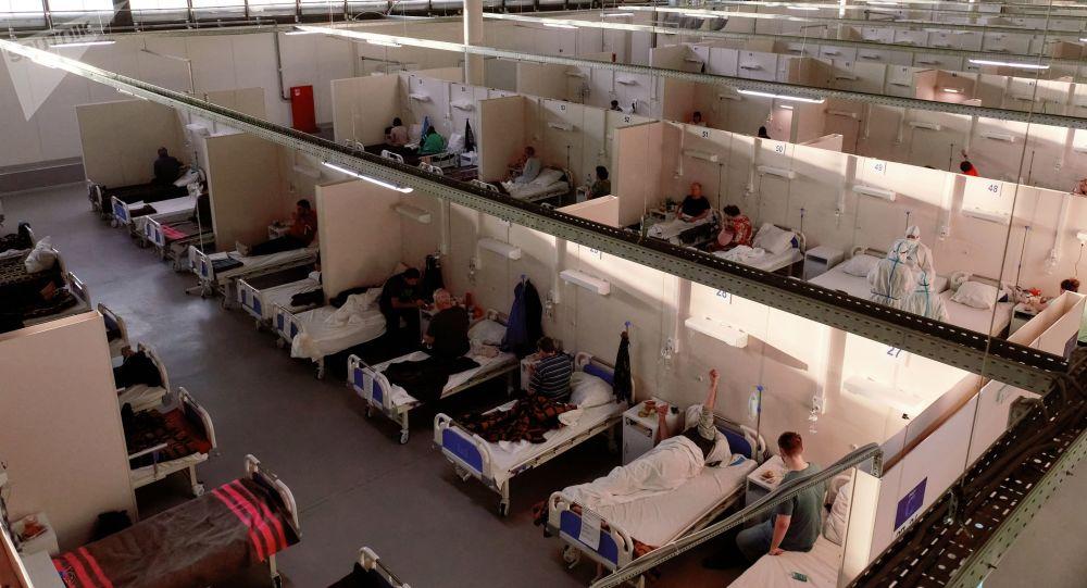 俄防疫指挥部:俄单日新增新冠病毒感染病例11699例 累计超516.7万例