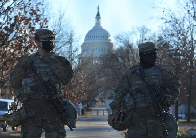 美国国民警卫队成员