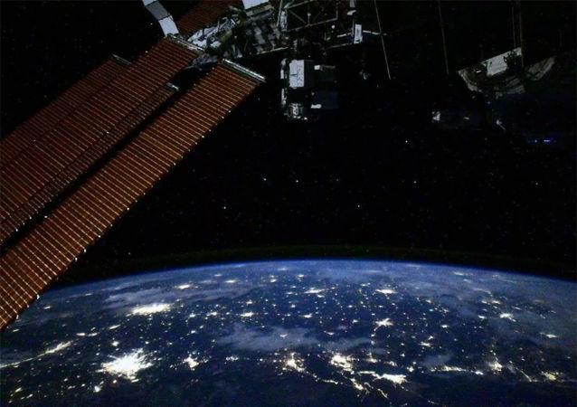 從國際空間站可以給地球上的任何人