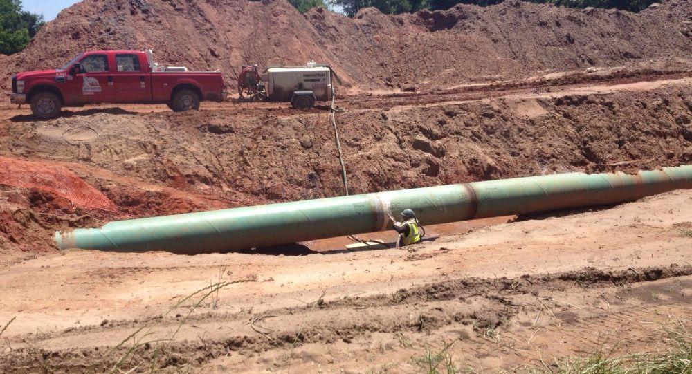 Keystone XL输油管道建设