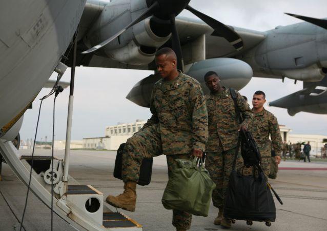 堅持按原計劃盡快搬遷美軍駐沖繩軍事基地