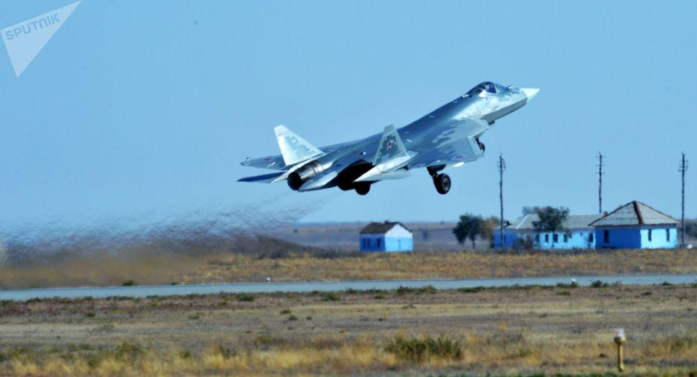 俄罗斯第五代战机苏-57