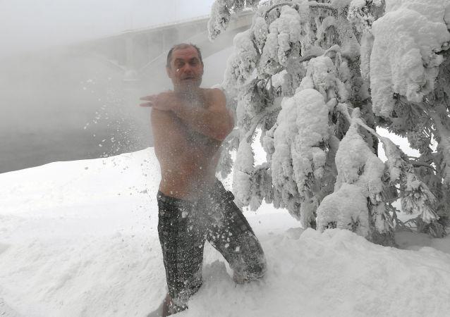 俄罗斯医生警告体温过低的危险
