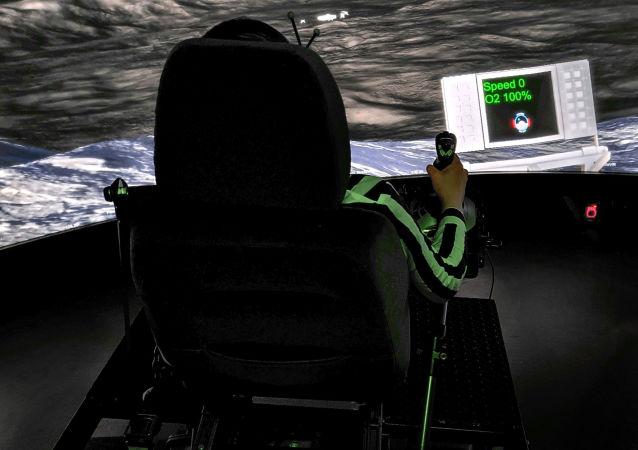 控制月球車的仿真試驗裝置