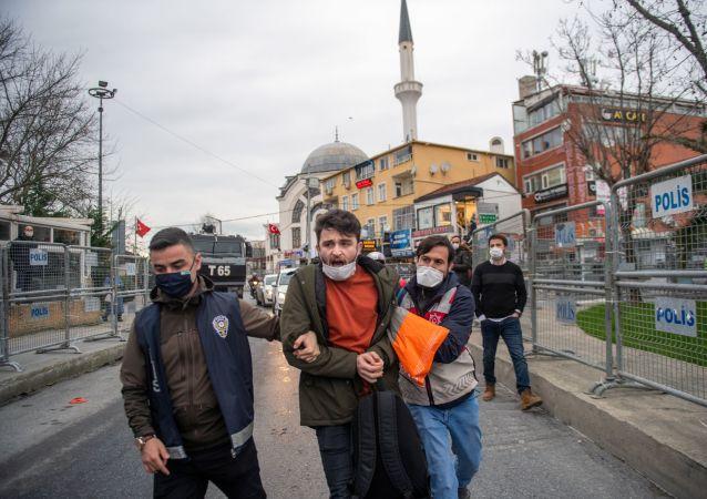 伊斯坦布爾博斯普魯斯大學抗議活動中有150多人被拘留