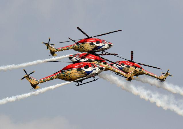 印度空軍「孔雀」飛行表演隊
