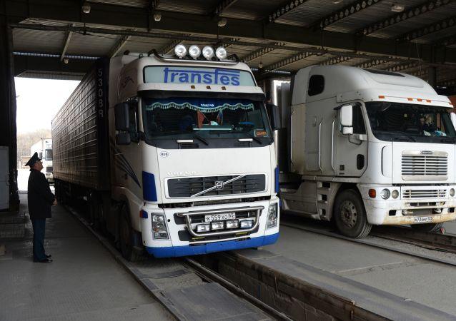 俄驻哈尔滨总领事:俄中边境货运形势严峻 各方正寻求解决方案