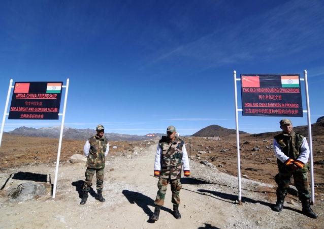 印度拉达克边境