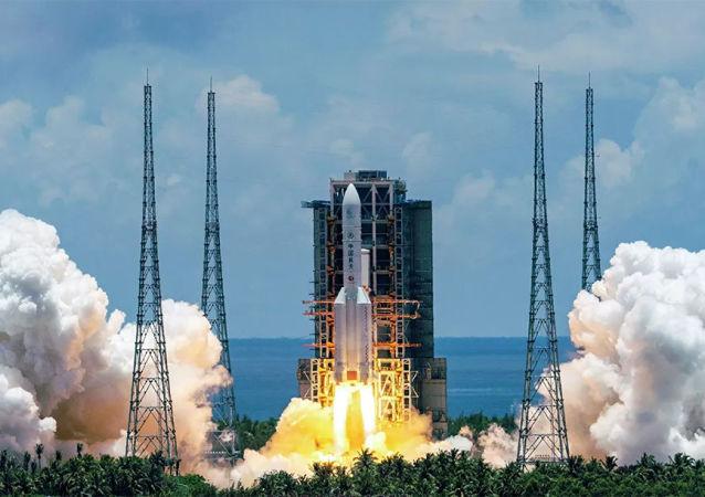 中國載人航天工程辦公室:長征五號B遙二運載火箭末級殘骸絕大部分器件燒蝕銷毀