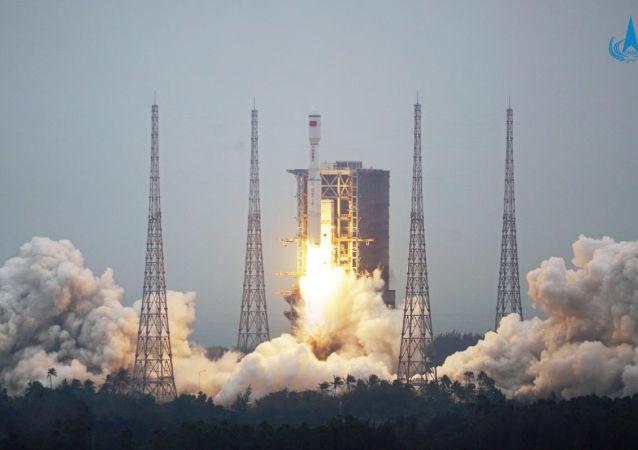 中国出于技术原因取消天舟二号货运飞船的发射