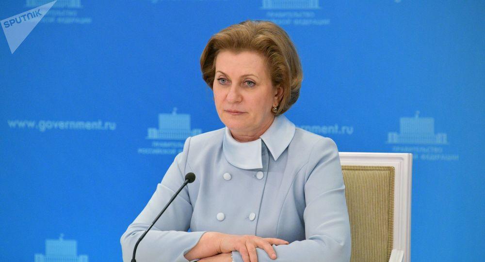 俄罗斯联邦消费者权益保护和公益监督局局长安娜·波波娃