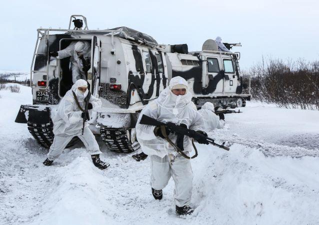 美国透露向北极调动军队的目的