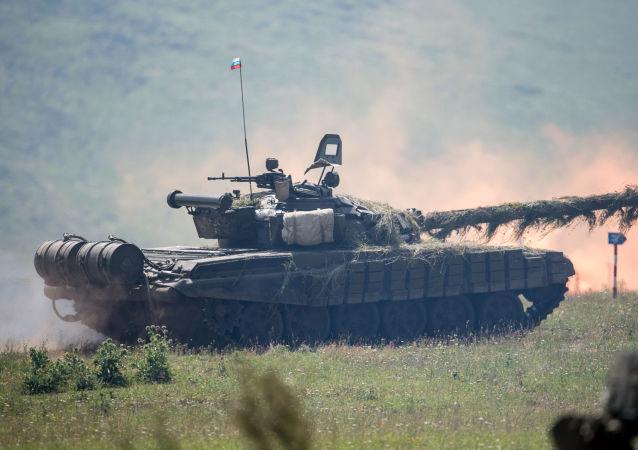 俄羅斯T-80坦克