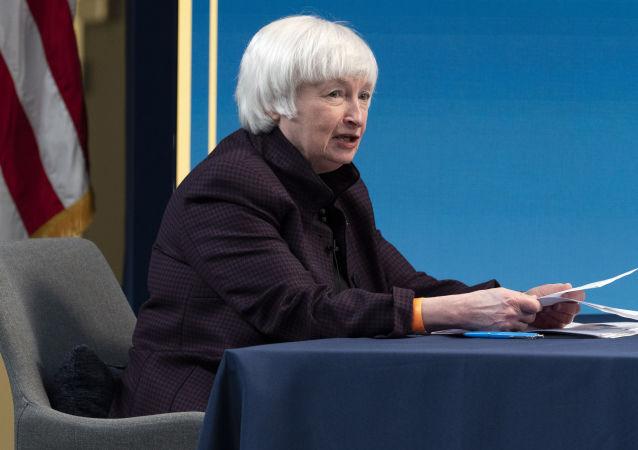 美国财政部长珍妮特•耶伦