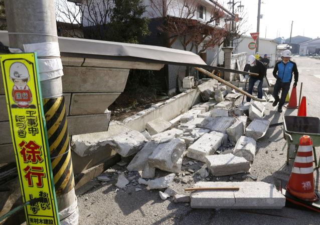 日本氣象廳:日東北部再次發生5.2級地震