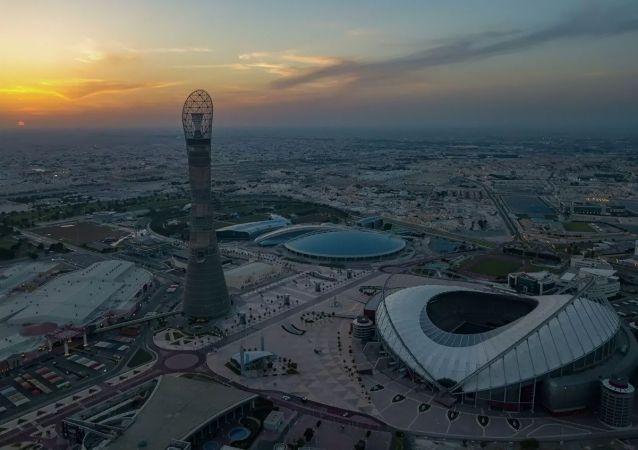 卡塔尔Khalifa足球场
