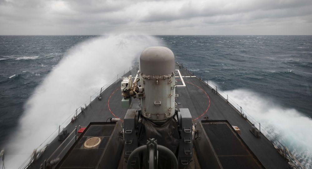美国海军导弹驱逐舰