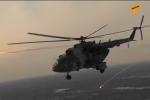 俄陸軍航空兵直升機部隊舉行實彈演練