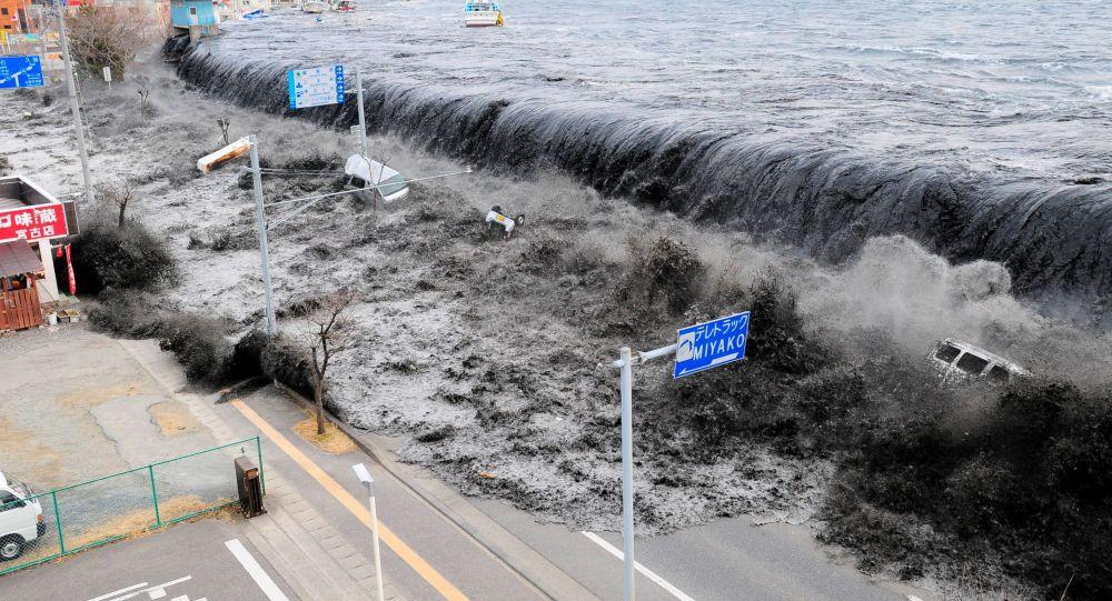 2011年大地震後