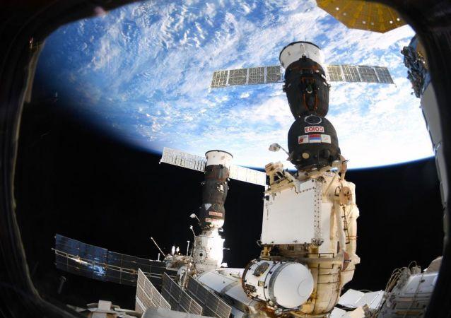 俄航天集团:国际空间站的所有系统工作正常 空气符合要求