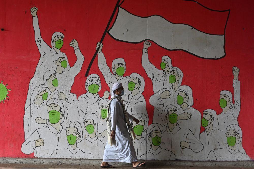 雅加達的塗鴉。