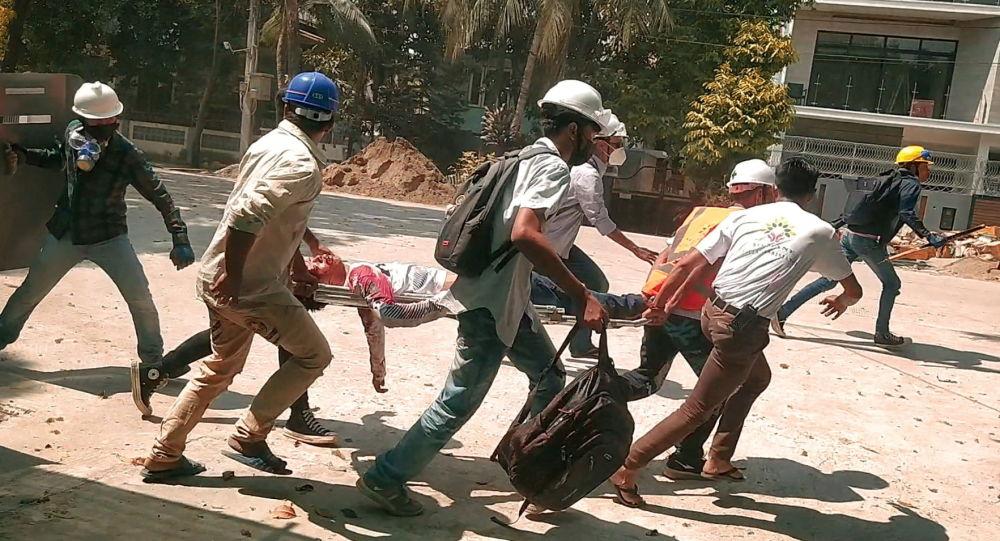 美日德等12國防長譴責緬甸暴力行為