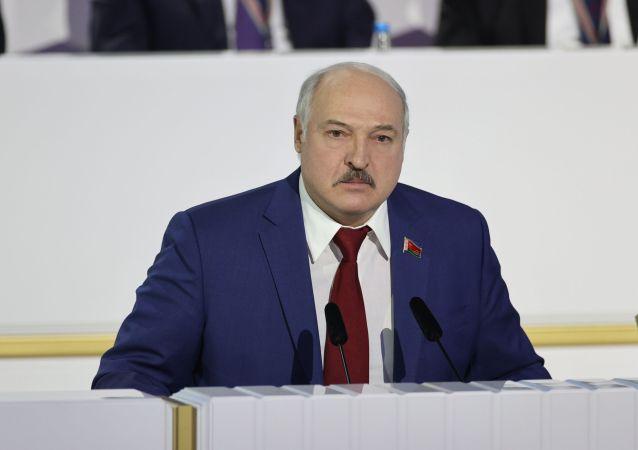 白俄罗斯总统亚历山大·卢卡申科