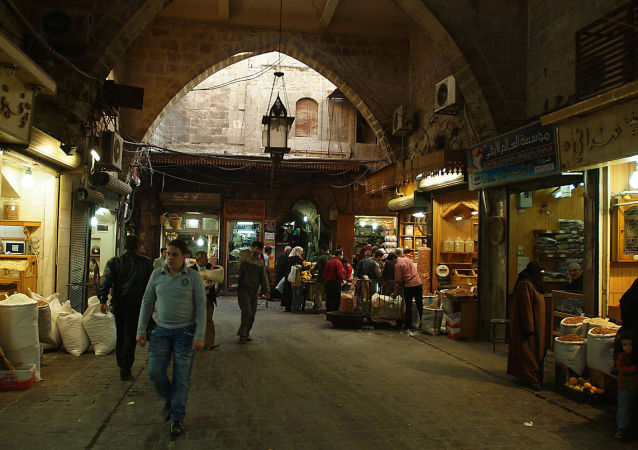 叙利亚阿勒颇市麦地那集市