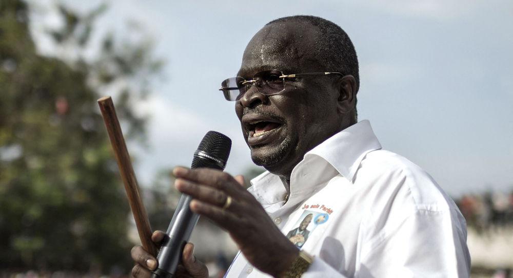 刚果(布)总统选举反对派候选人科莱拉斯