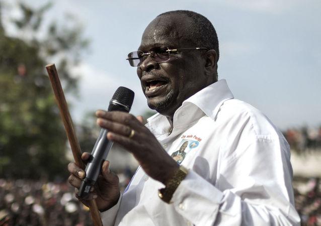 剛果(布)總統選舉反對派候選人科萊拉斯