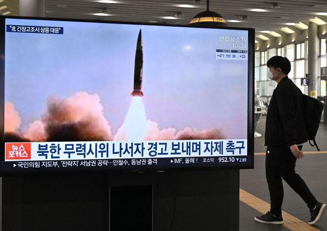 媒體:朝鮮進行新型遠程巡航導彈試驗