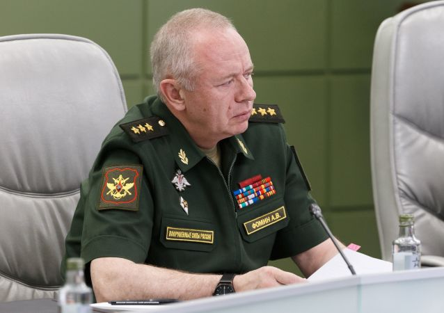 俄國防部副部長福明
