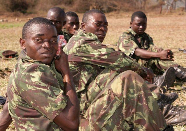 莫桑比克军人