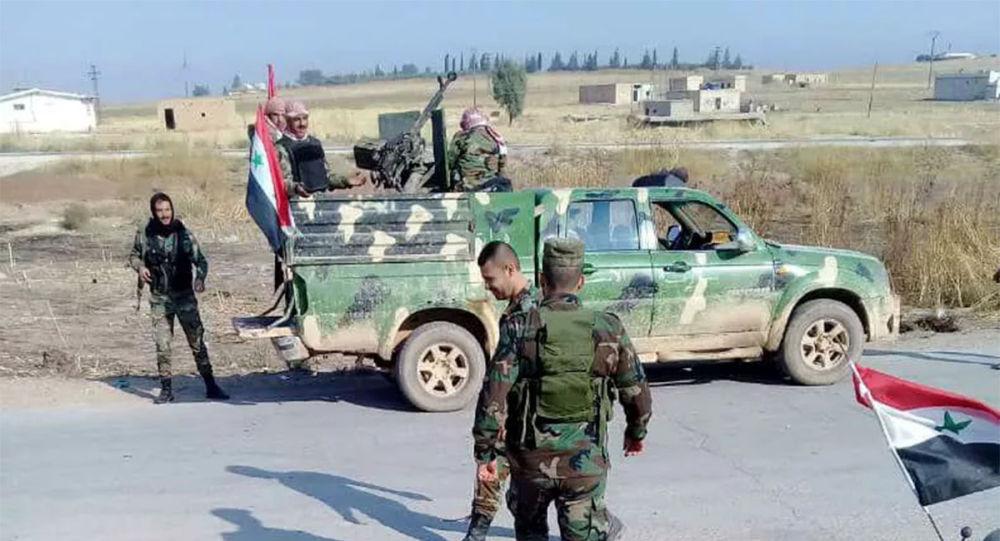 敘利亞工兵摧毀一武裝分子據點