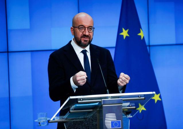 欧盟领导人与美国总统会晤前肯定中欧投资协定