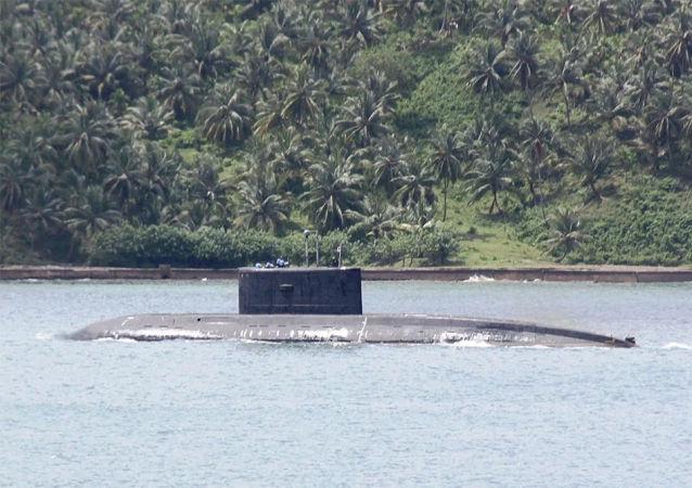 印度归还向俄罗斯租借的核潜艇