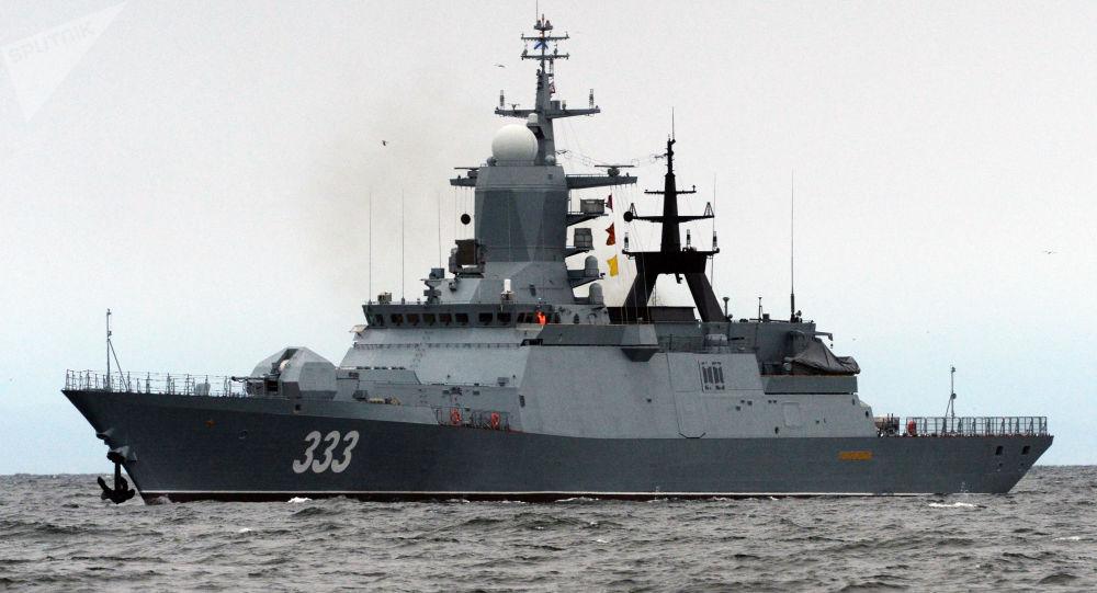 俄军工委员会介绍俄隐身战舰建造情况