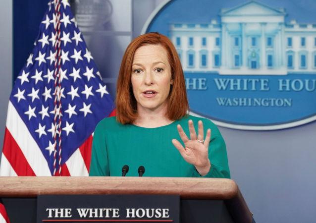 """白宫新闻秘书普萨基被林肯的""""鬼魂""""吓了一跳"""