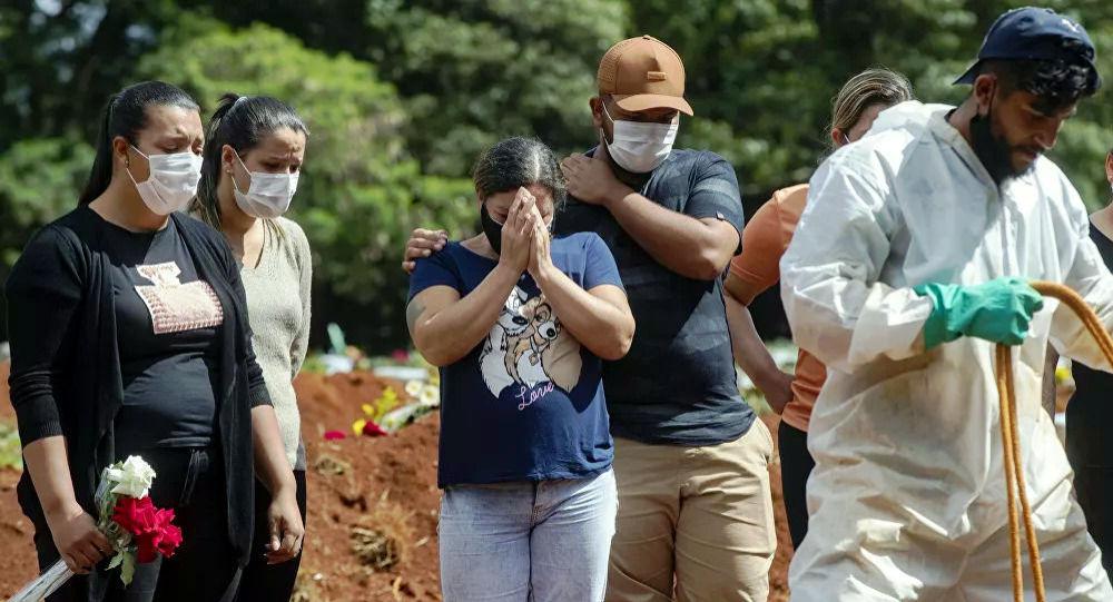 巴西單日新增超3.8萬例新冠病毒感染病例
