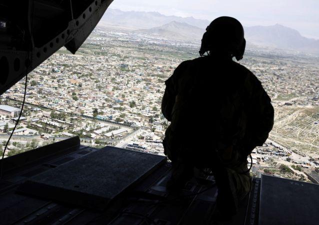 美国军人在喀布尔(资料图片)