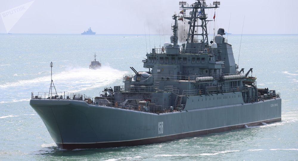 俄專家:俄多功能登陸艦因武器裝備少而需要保護