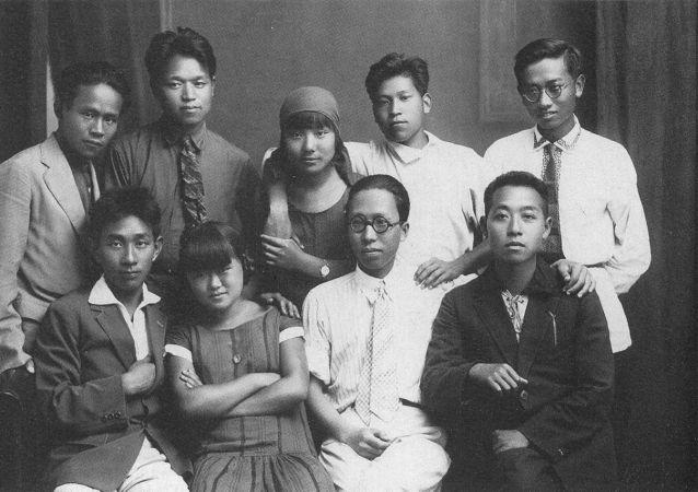 中國勞動者孫逸仙大學(中國勞動者共產主義大學)的學生們
