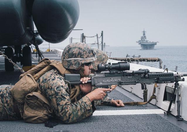 美國或在太平洋部署一個永久性海軍群
