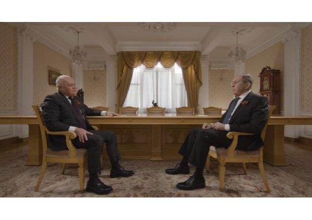 俄罗斯外交部长拉夫罗夫谈到俄美关系正常化的必要条件