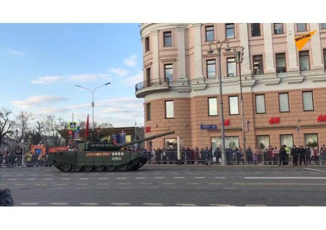 俄罗斯胜利日阅兵操练