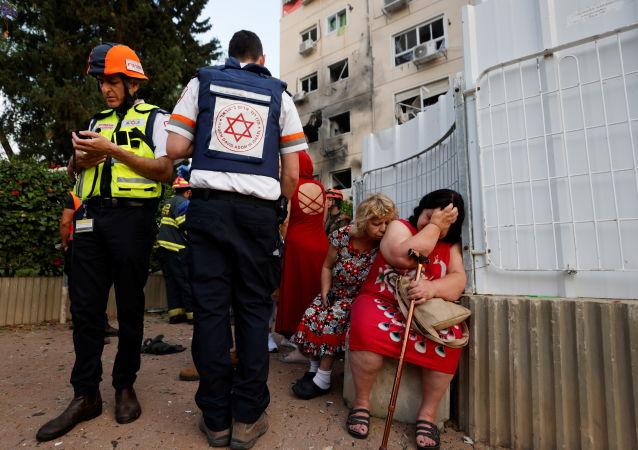 媒體:火箭彈襲擊造成以色列洛德市一名兒童死亡