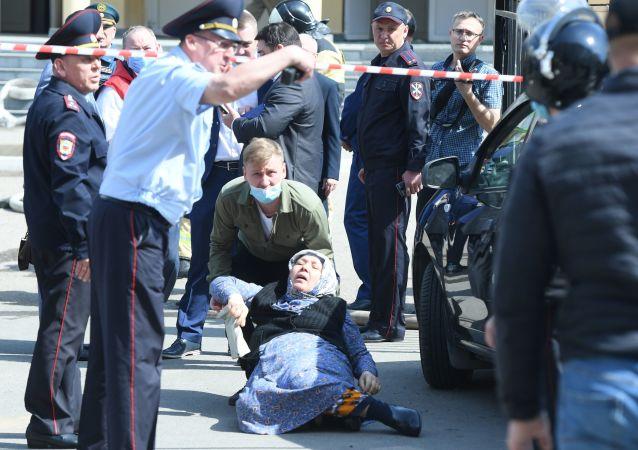 俄鞑靼斯坦领导人因喀山学校枪击事件宣布明日为哀悼日