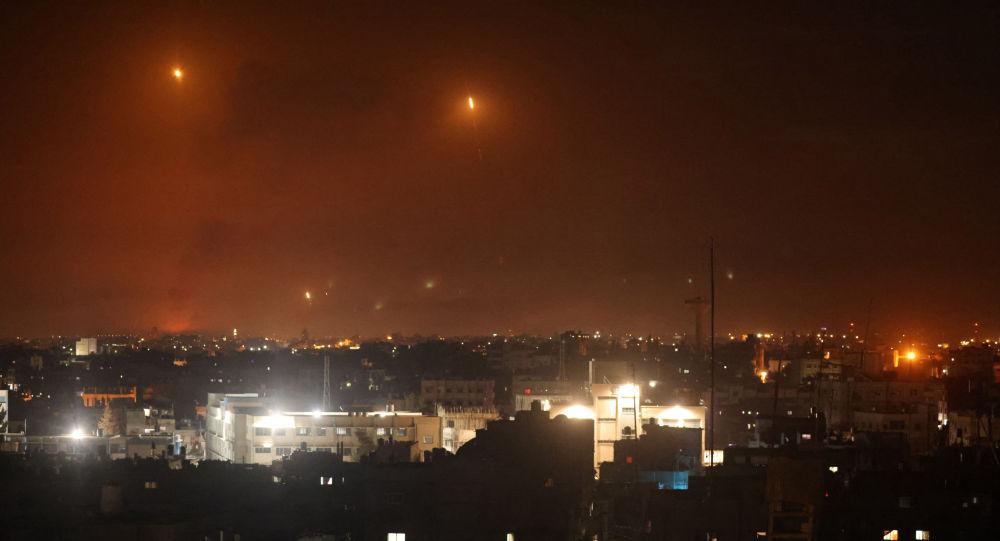 局勢緊張後一千多枚火箭從加沙地區射向以色列
