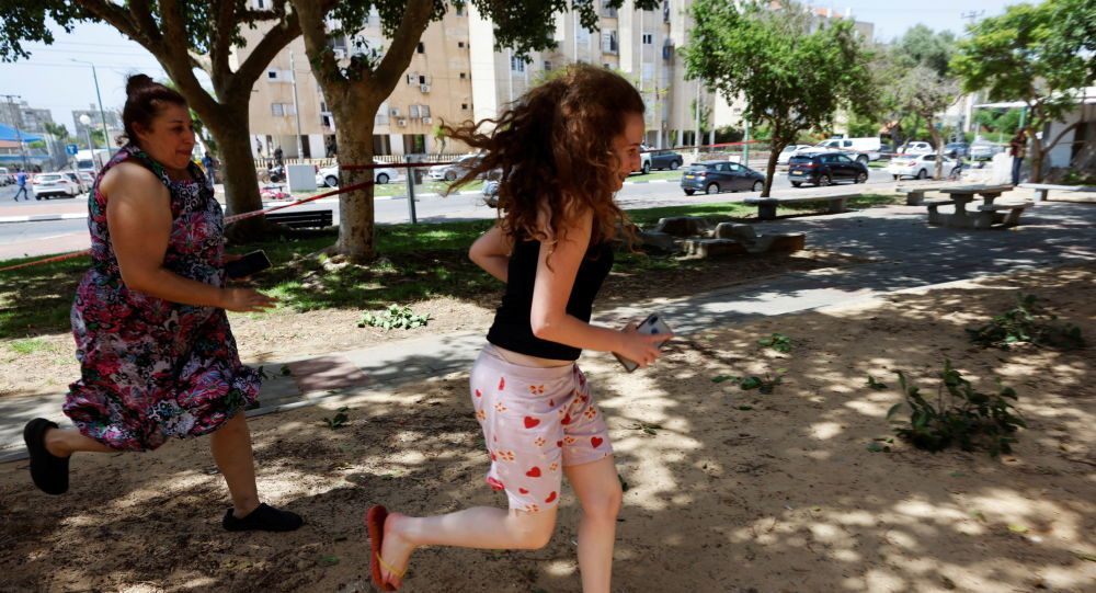 以色列特拉维夫、里雄莱锡安市、古什丹区和莫迪因市正响起空袭警报